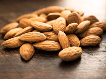 Almonds consumption reduces  levels of fat in your blood