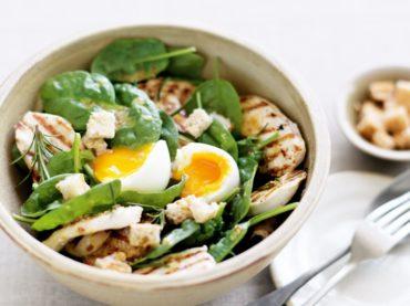 Flavored chicken salad