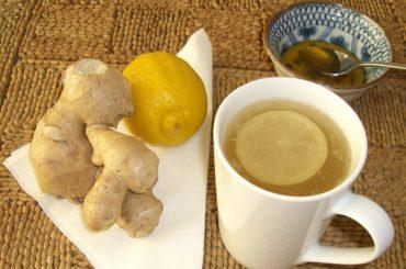 Herbal tea Ginger and Lemon