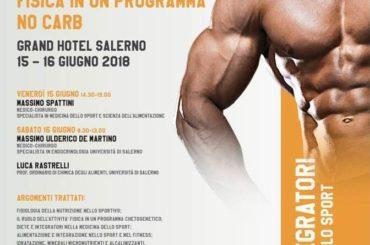 diete e integratori nella medicina dello sport: il ruolo dell'attività fisica in un programma No Carb