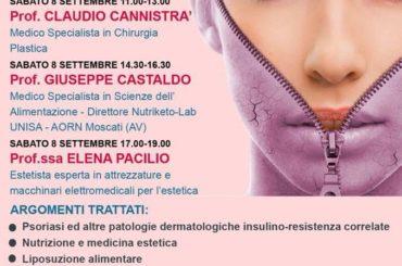 Corso Teorico-Pratico di ESTETIKA DERMATOLOGIA E NUTRIZIONE.