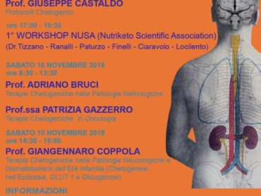 Corso: Dietoterapia Chetogenica Long-Time