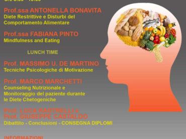 Corso: Motivazione e Consueling Nutrizionale – Università di Salerno