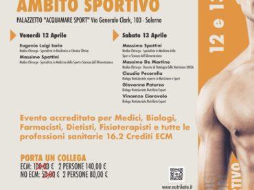 ECM: Protocolli Dietetici ed integratori in Ambito Sportivo