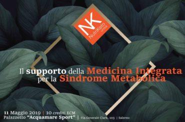 Il supporto della medicina integrata per la sindrome metabolica (10 ECM, 11 maggio)