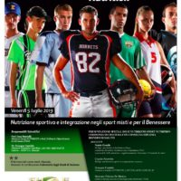 TEAM SPORT NUTRITION – Università di Salerno 5 luglio 2019