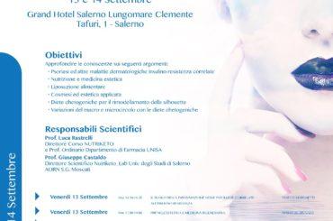 EstetiKa Nutrizione e Dermatologia – 13-14 Settembre 2019 – Gran Hotel Salerno