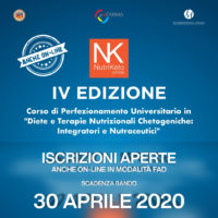 Nutriketo IV also online: Registration open! new call expiring on 30 APRIL 2020