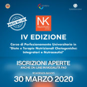 Nutriketo IV also online: Registration open! new call expiring on 30 March 2020